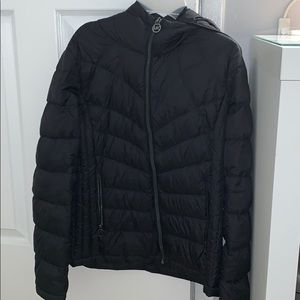 Michael Kors black puff jacket
